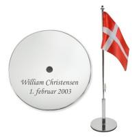 Personlige bordflag i gave